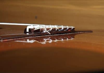 Pierre Guénégo Puente despegado luthier guitarra clásica